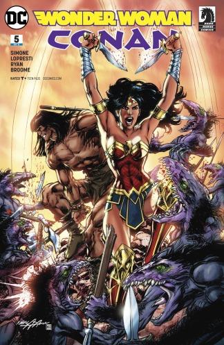 Wonder Woman Conan 5 cover
